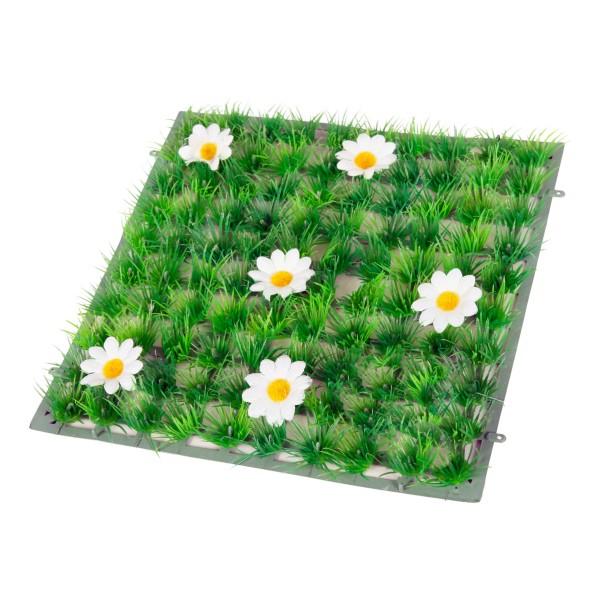Plantes d coratives tapis fleurs blanches pour aquarium - Tapis chauffant pour plante ...