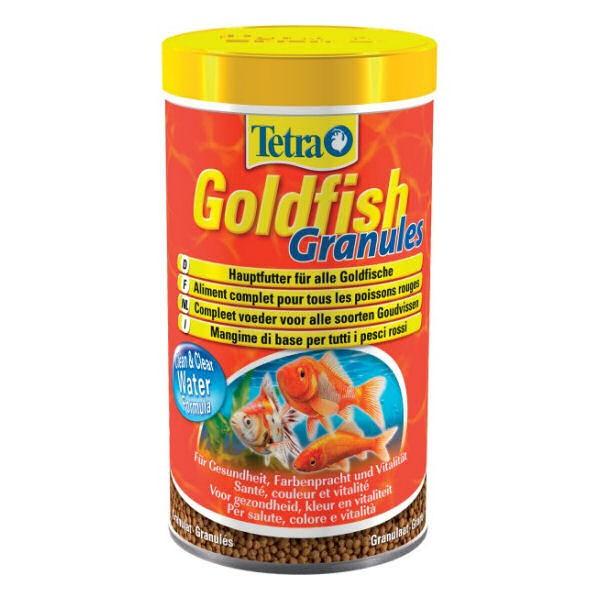 Tetra goldfish granules aliment pour poissons d 39 eau froide for Goldfish nourriture